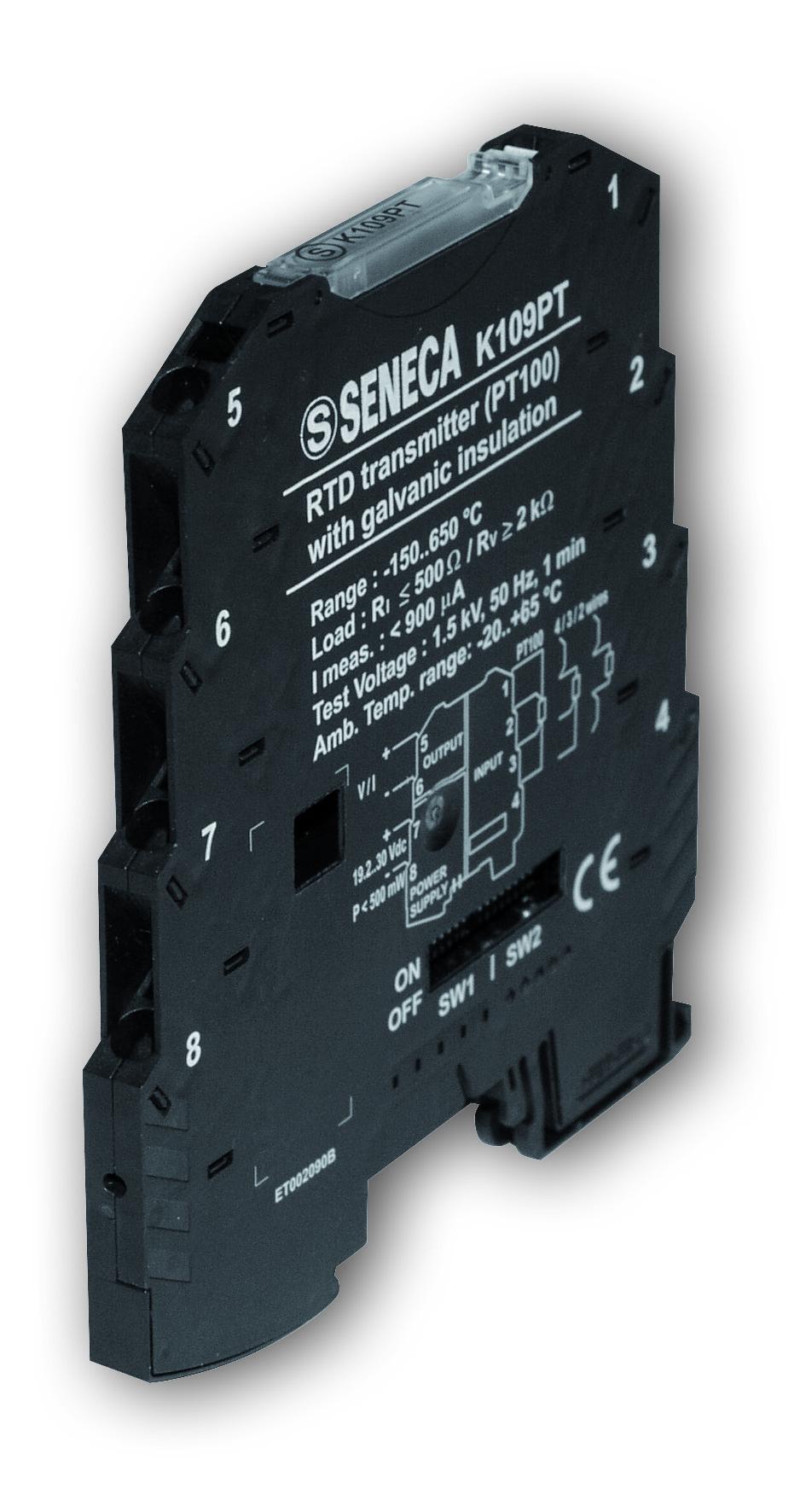 Dynatime Suisse - Convertisseurs industriels - Instruments pour tableau de commande - K109PT